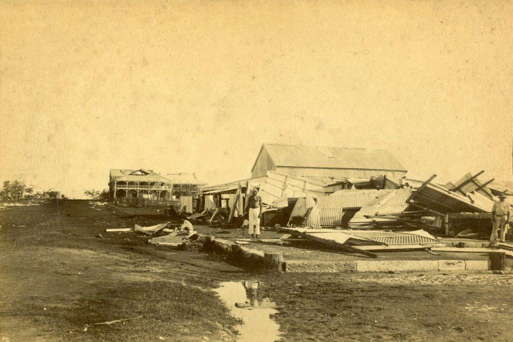 Cyclone - Darwin 1897